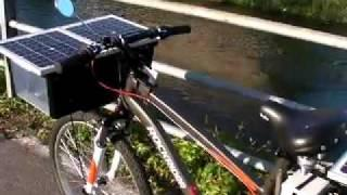 Solar Electric Bike