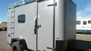 "Just In! 6x12 Off Road Trailer - insulted, 6'6"" interior height, torsion axles"
