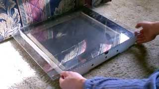 """Solar Food Dehydrator - simple DIY project - dries & preserves food -easy to make """"pizza box"""" design"""