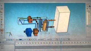 Gigadron Electric & Heat energy generator using a heat pump