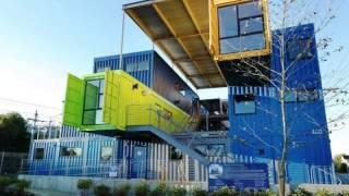 Shipping container homes off grid