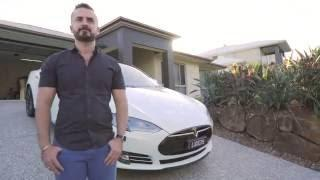 TESLA MODEL S AND POWERWALL | CUSTOMER STORIES, AMAZING AUSTRALIA