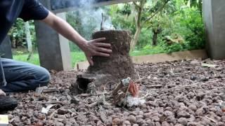 Rocket Stove Manufacturers HATE Him! Local Kid Improves Cob Rocket Stove With This One Weird Trick