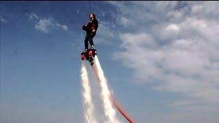 Water Jet Pack Basketball: Real Life Hover Board?