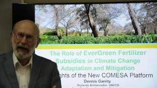 The Role of EverGreen Fertilizer Subsidies in Climate Change Adaptation and Mitigation Part I