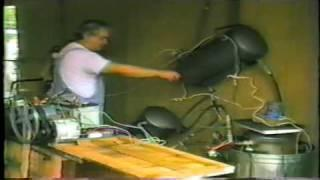 Homemade Hydro-Electric Engine Test