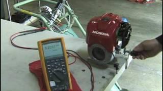 Hydrogen Honda GX25 Engine
