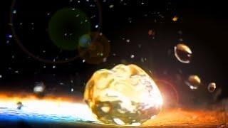 Dancing Water Leidenfrost effect 8 minutes slow motion SOLAR FRESNEL LENS HD 300 FPS