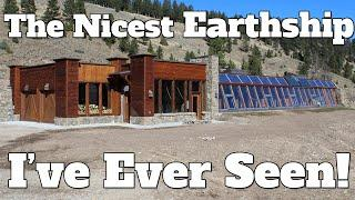 The Nicest Earthship I've Ever Seen! Earthip Biotecture - Passive Solar - Off Grid - Big Sky Montana