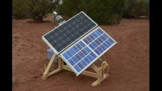 Solar Tracker Timelapse