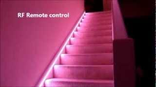 Automatic Stair LED lighting - how to do