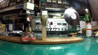 熱共振引擎 Laminar Flow Stirling Engine (HOT AIR ENGINE)