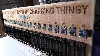 Mikes DIY Powerwall Update 67 - 18650 Awesomist Battery Charging Thingy