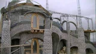 Inside an Earthship