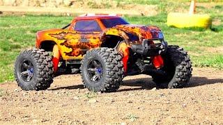 RC ADVENTURES - Unboxing a Double Flame Traxxas X-MAXX - Pitdawg Hydro Dip!