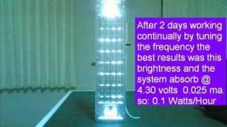 Joule thief Power Emergency Light.wmv