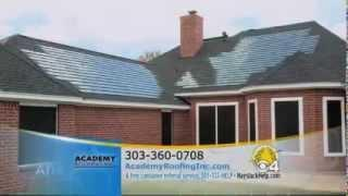 Academy Roofing DOW POWERHOUSE Solar Shingles