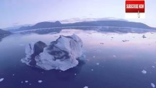 Drone footage shows rapidly melting Arctic sea ice sheet