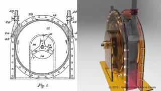 102 - Tesla's Turbine  -   (English version) Patent #1061206
