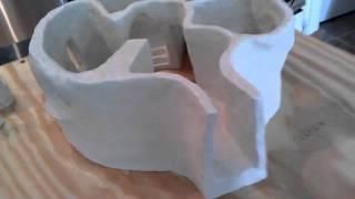 Cob House - Start with a clay model