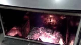 60kw solar focus log boiler on burn