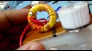 Rangkaian Joule Thief 0.5 Watt HPL
