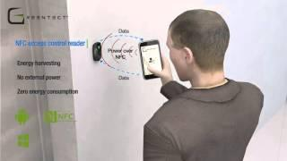 Greentect® NFC energy harvesting readers