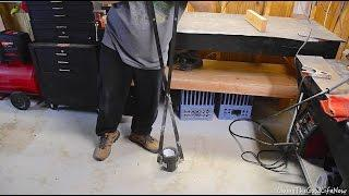 How to make a Large $50 Mini Homemade Foundry Furnace Forge DIY - Crucible Lifting Tongs Pt. 3