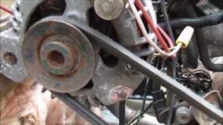 How to get 120v AC out of a car alternator