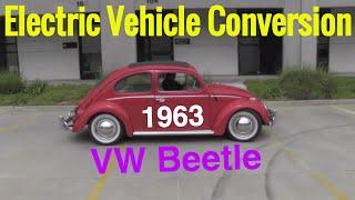 Electric Vehicle Conversion - 1963 VW Beetle - Classic car electric vehicle conversion series