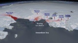 Underground Volcanoes In Antarctica Contributing To Melting Glacier