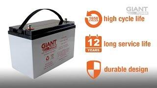 Giant Power Deep Cycle Batteries