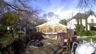 Net-Zero Home Construction Time Lapse