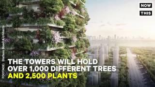 This Vertical Forest Will Put A Dent In Polluted Air