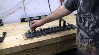 Modified Howard Johnson Linear Magnet Motor Test Two