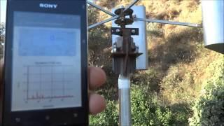 Wind Generator Meter/Seconds Test 1