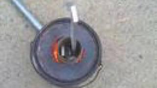 $30 backyard aluminum foundry - TURBOCHARGED
