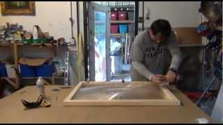 Dan Rojas Fresnel Lens Framing Artwork and Mirrors Solar Oven Solar Scorcher solarscorcher frame
