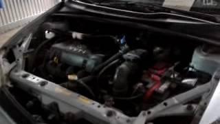 Fuel vaporizer installed on a 2000 Toyota Echo 1.5 gasoline engine