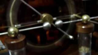 VOSS machine with leyden Jars