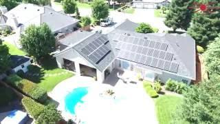 11Kw Grid Tie solar using Solarworld modules and Enphase micro inverters