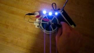 Joule ringer, joule thief and blocking oscillator ''penny'' circuits replications.