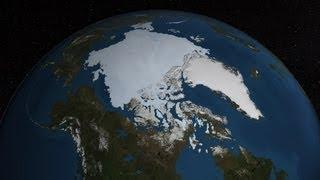 Summer Arctic Sea Ice Retreat: May - August 2013