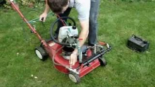 GEET LAWNMOWER WATER POWER HYBRID PART 1