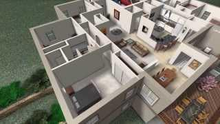 ZIMMER DESIGN - ANIMATION -Energy Efficient Home Interior