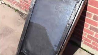 Solar Passive Window Heater v2 - Cheap And Effective!