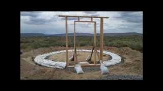 Time Lapse // De-Engineering @ Rimrock Meadows Strawbale Roundhouse