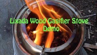 Lixada Wood Gasifier Stove