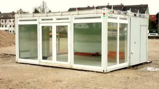 build a container house - artist builds his savannah studio with shipping containers