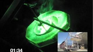 ProSolarTec Demonstration Melt